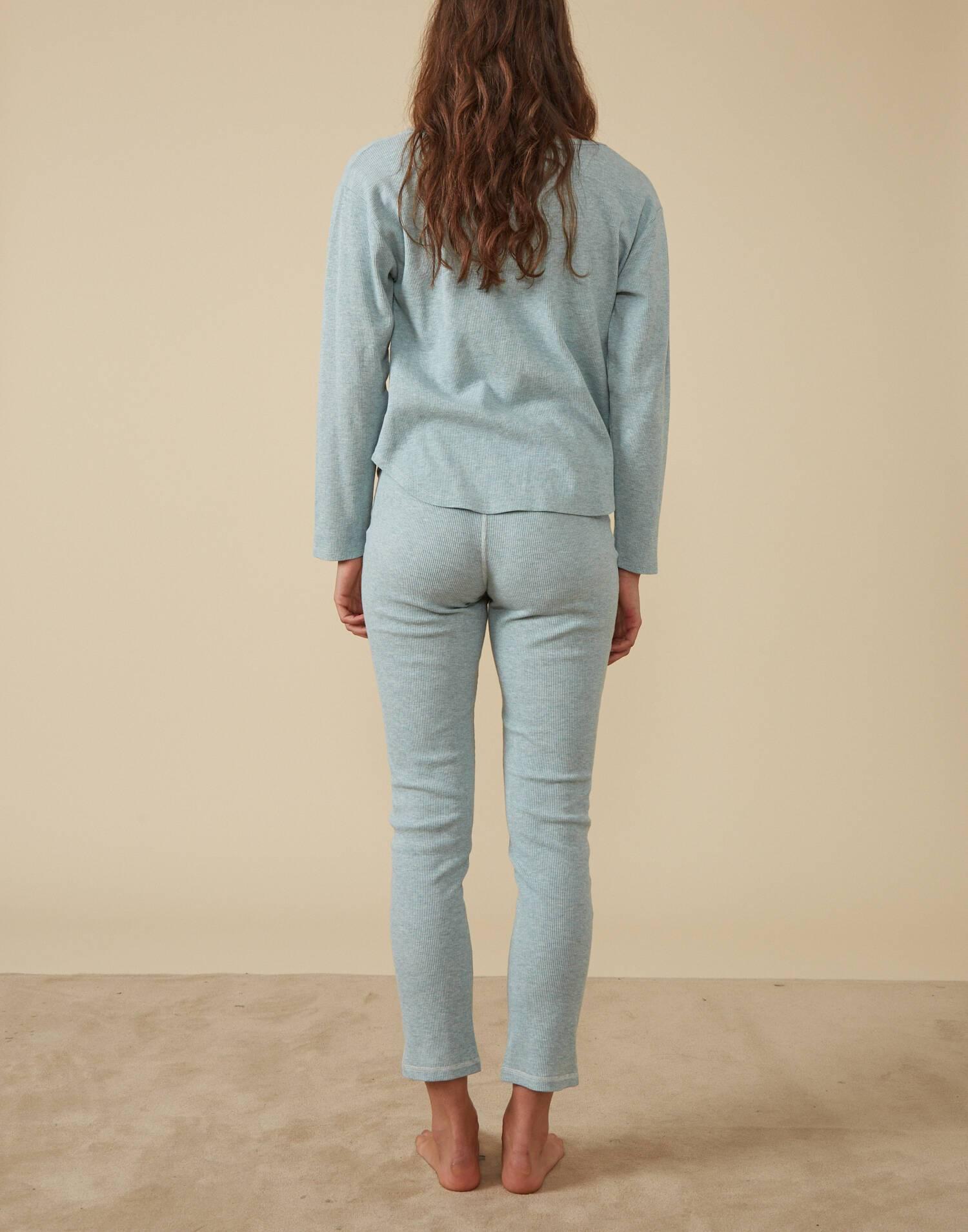 Ribbed homewear pants