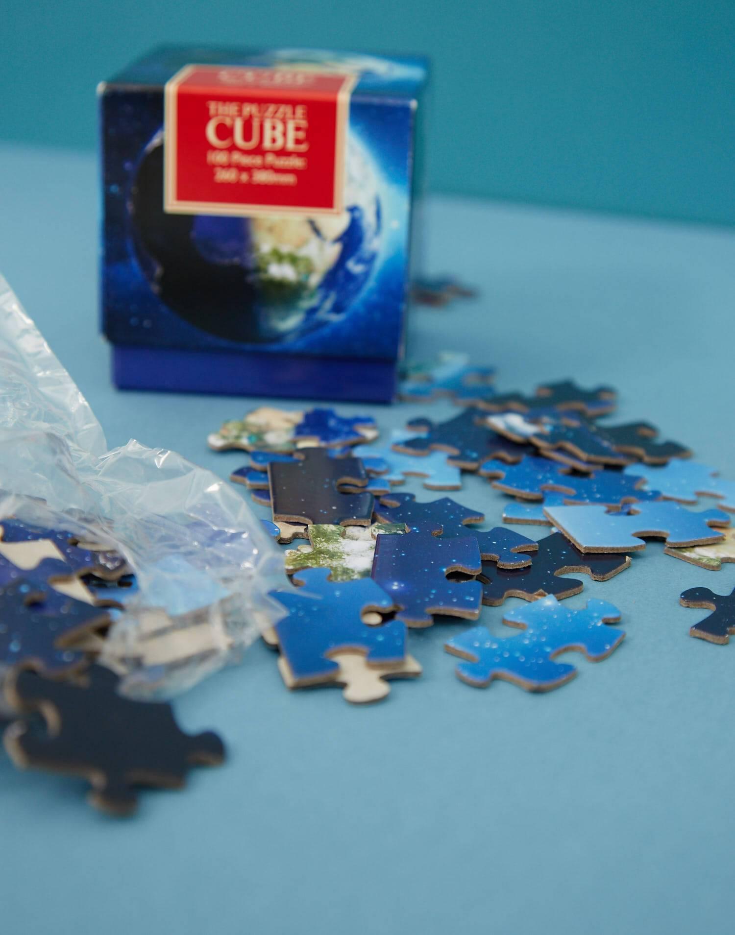Cubo puzzle sistema solare