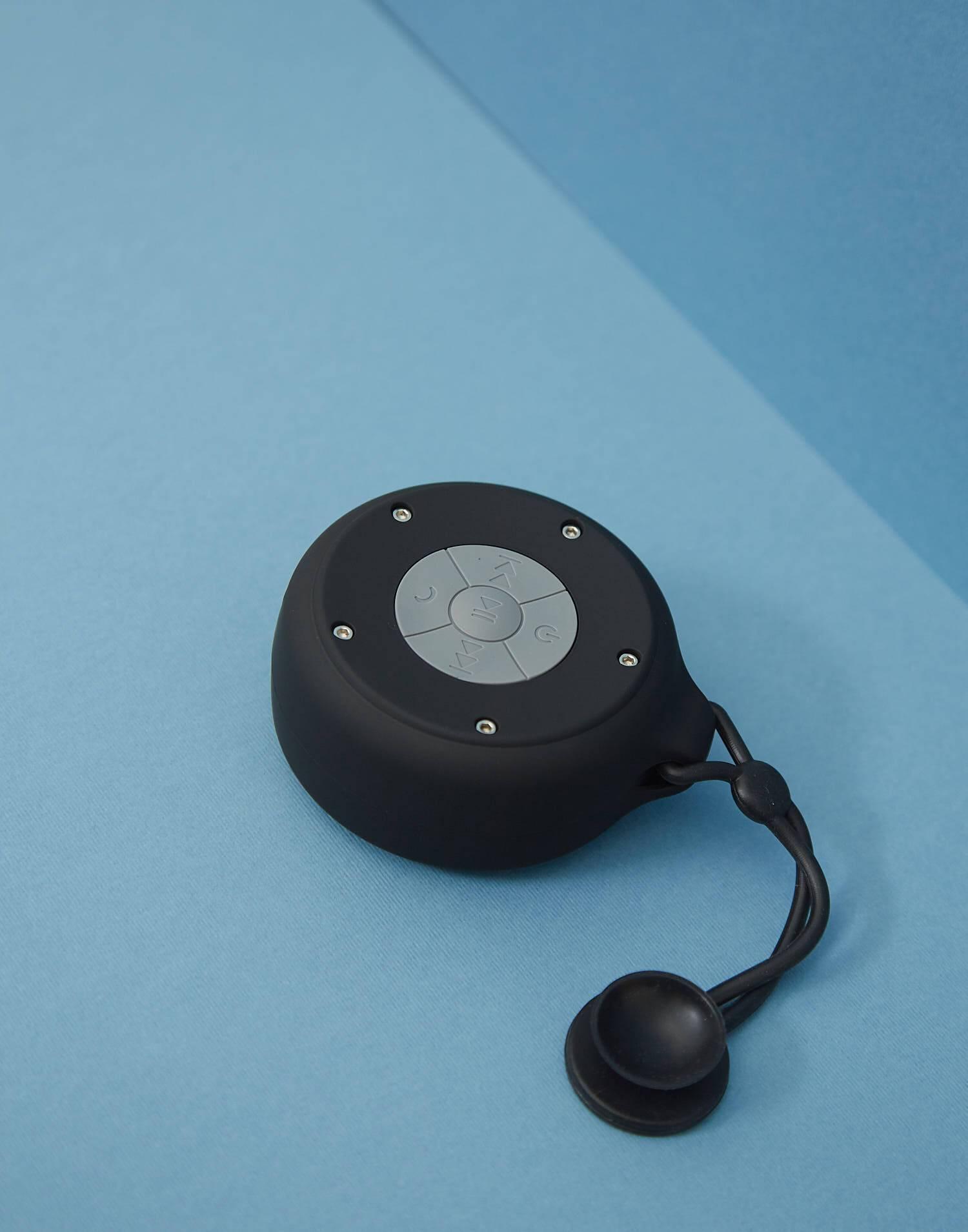 Rubber shower speaker
