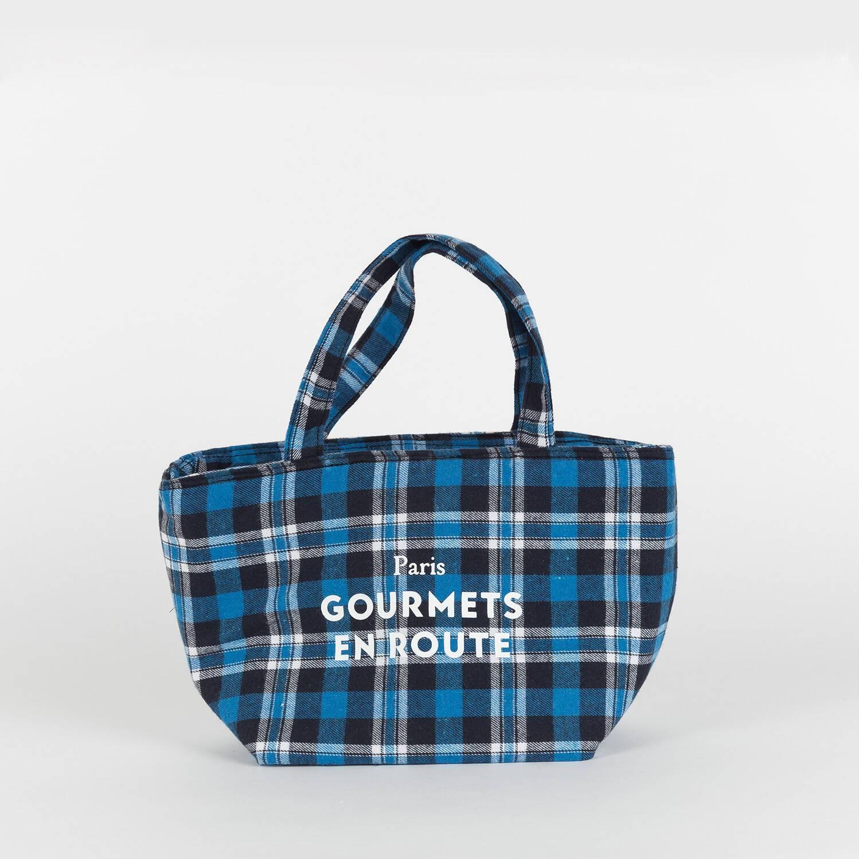 Plaid cooler bag