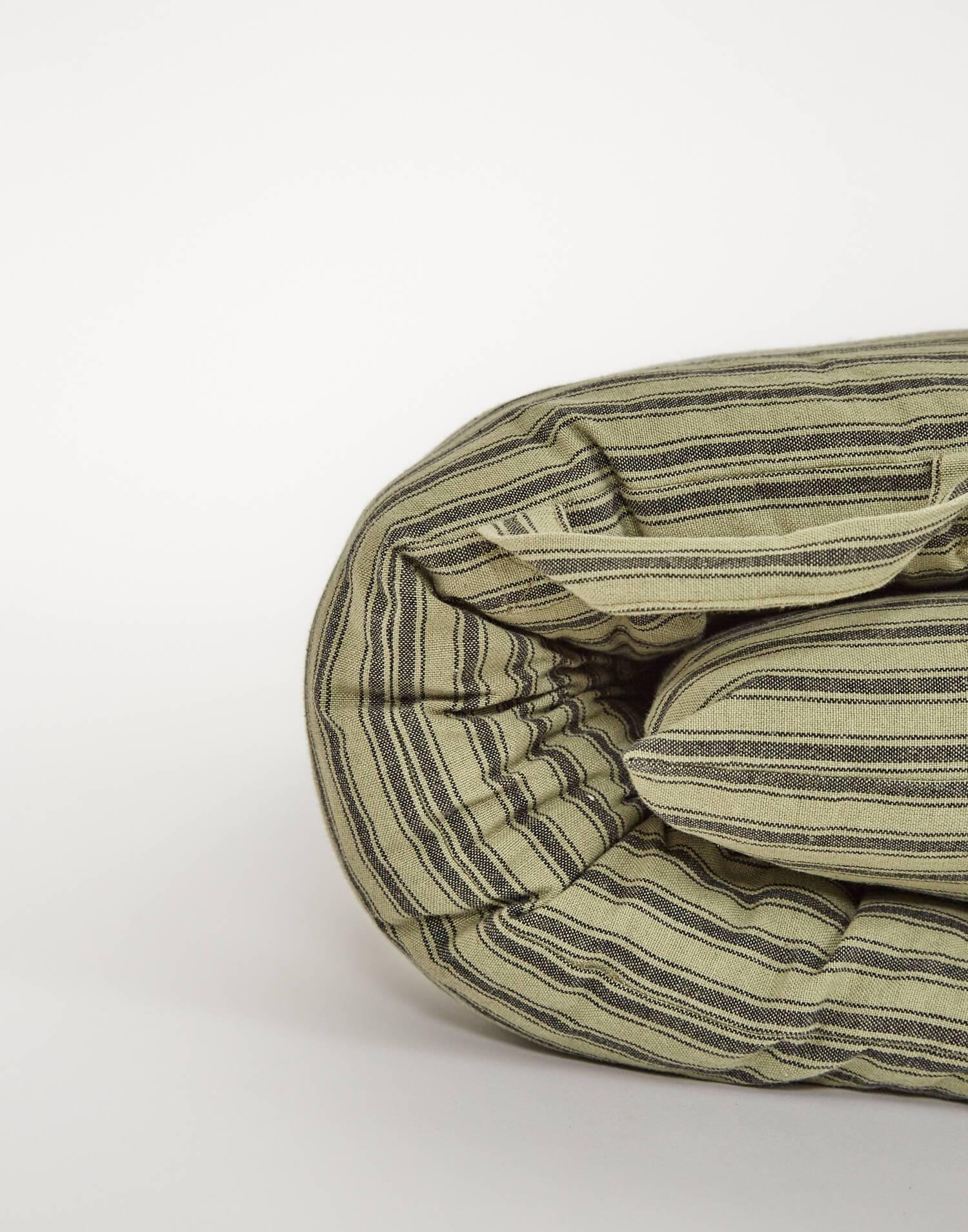 Striped cotton mattress 70*180
