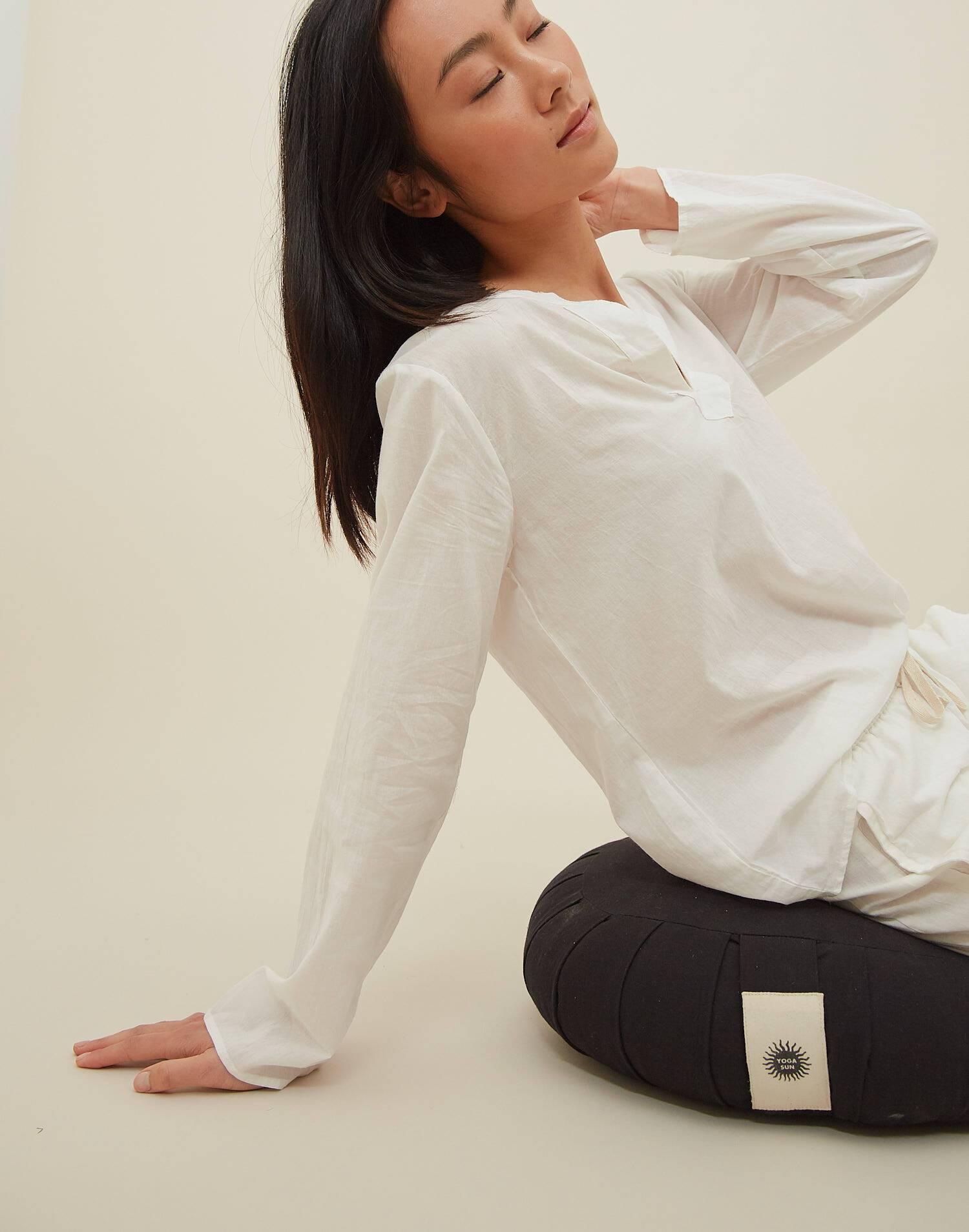 Homewear-set meditation für frauen