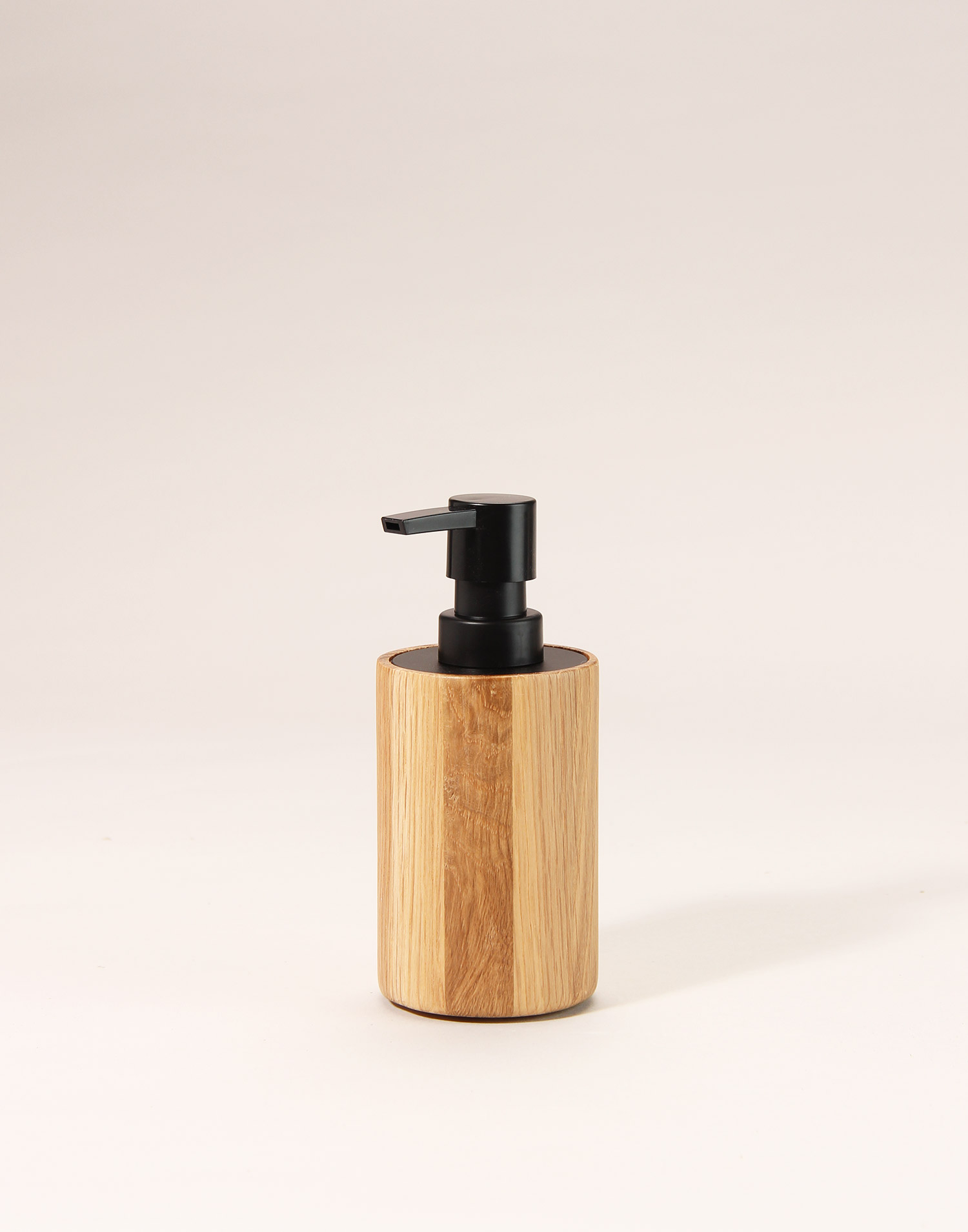 Oak soap dispenser