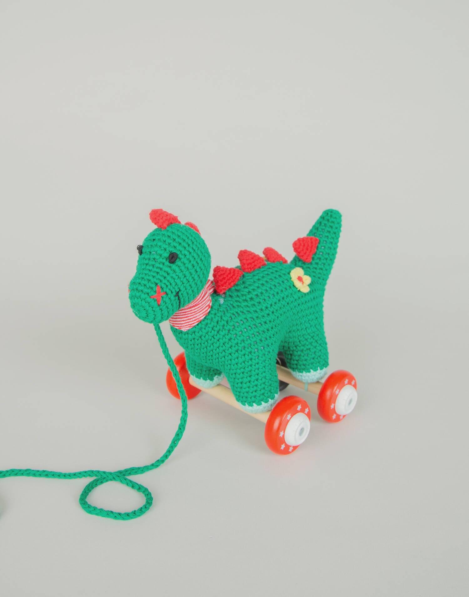 Juguete arrastre dinosaurio