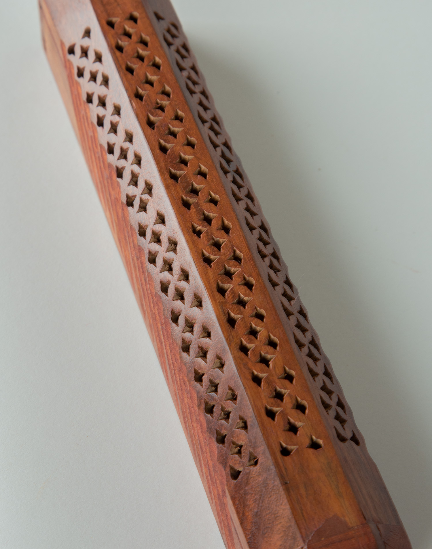 Wooden box censer