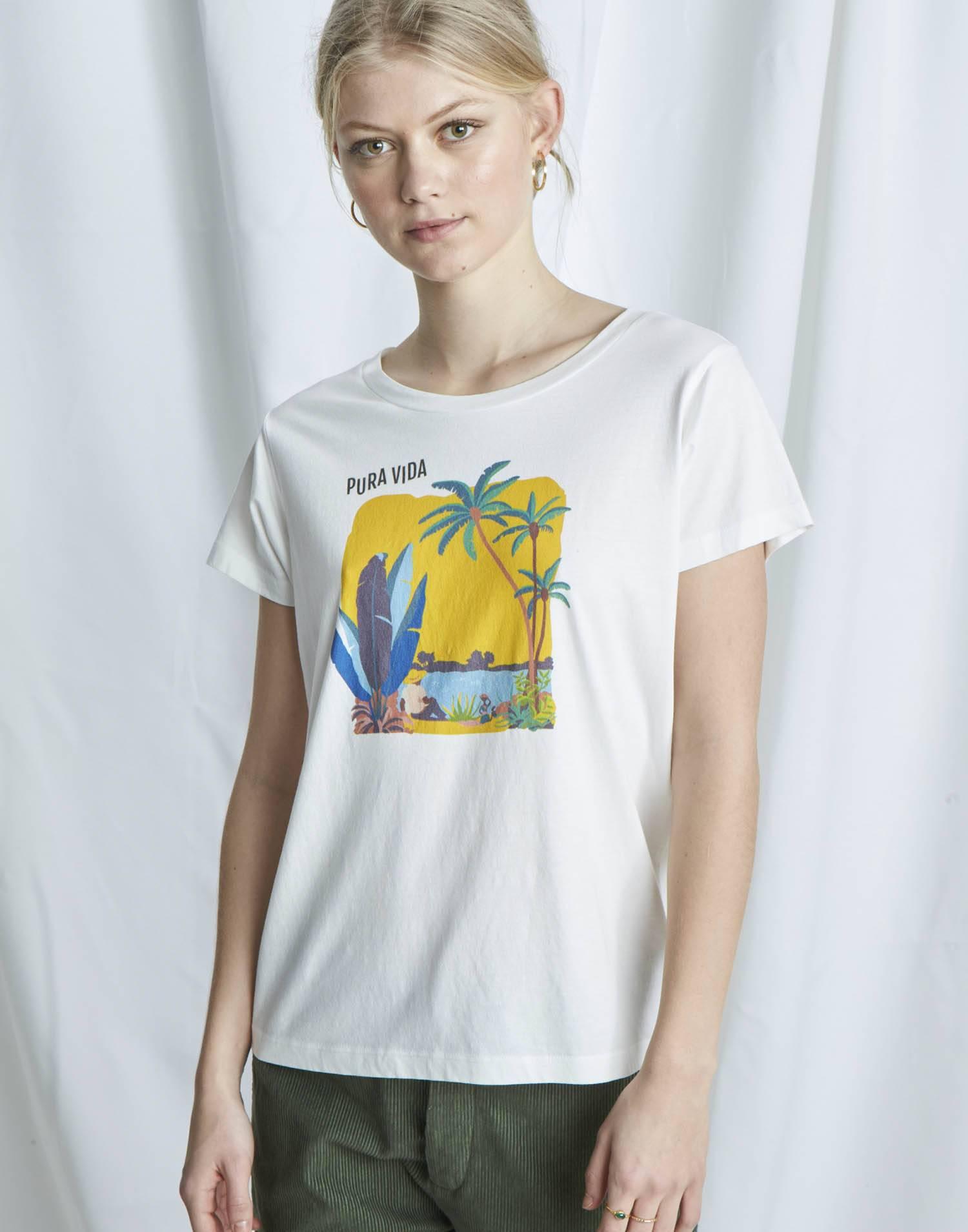 Camiseta orgánica pura vida