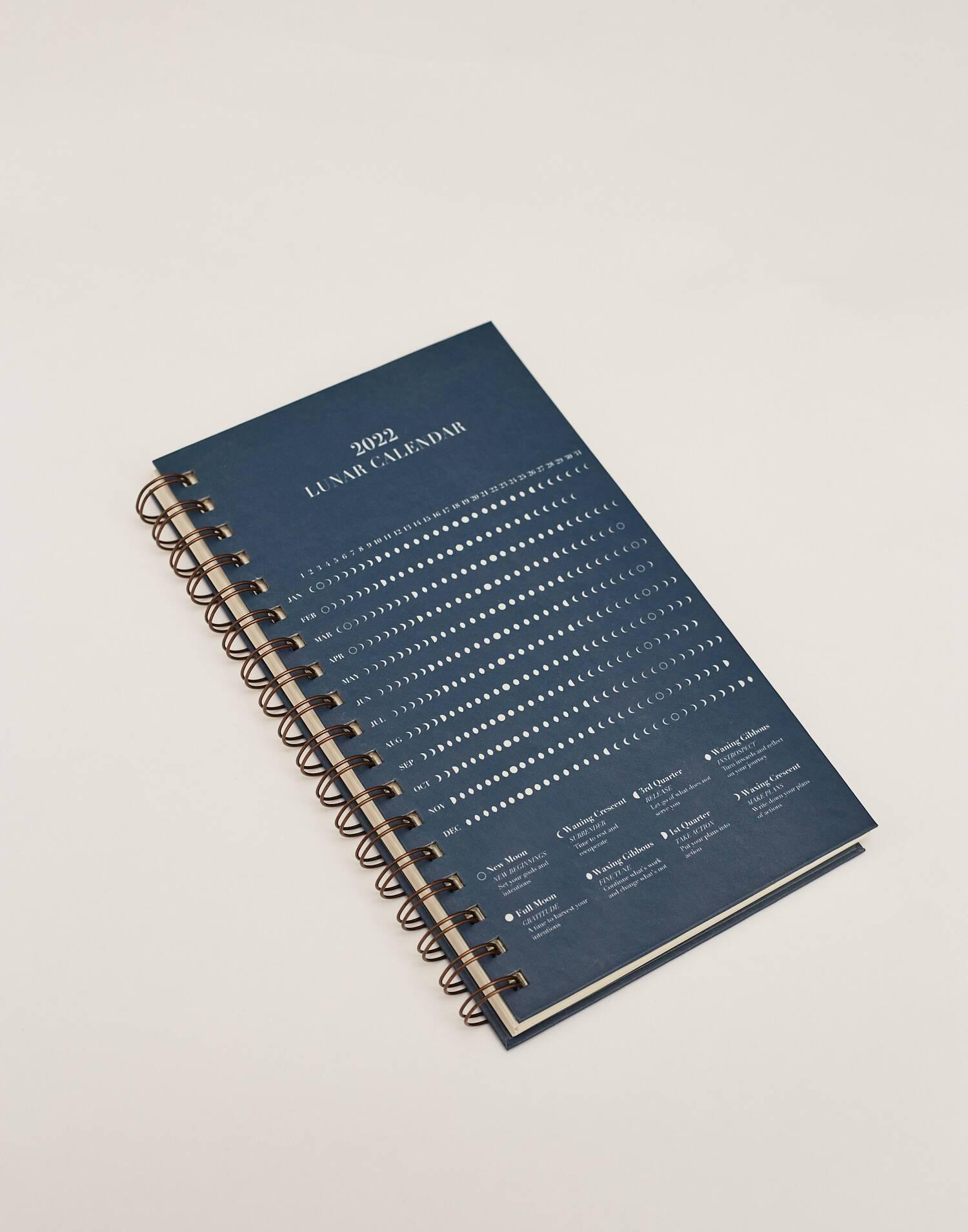 lunar calendar notebook