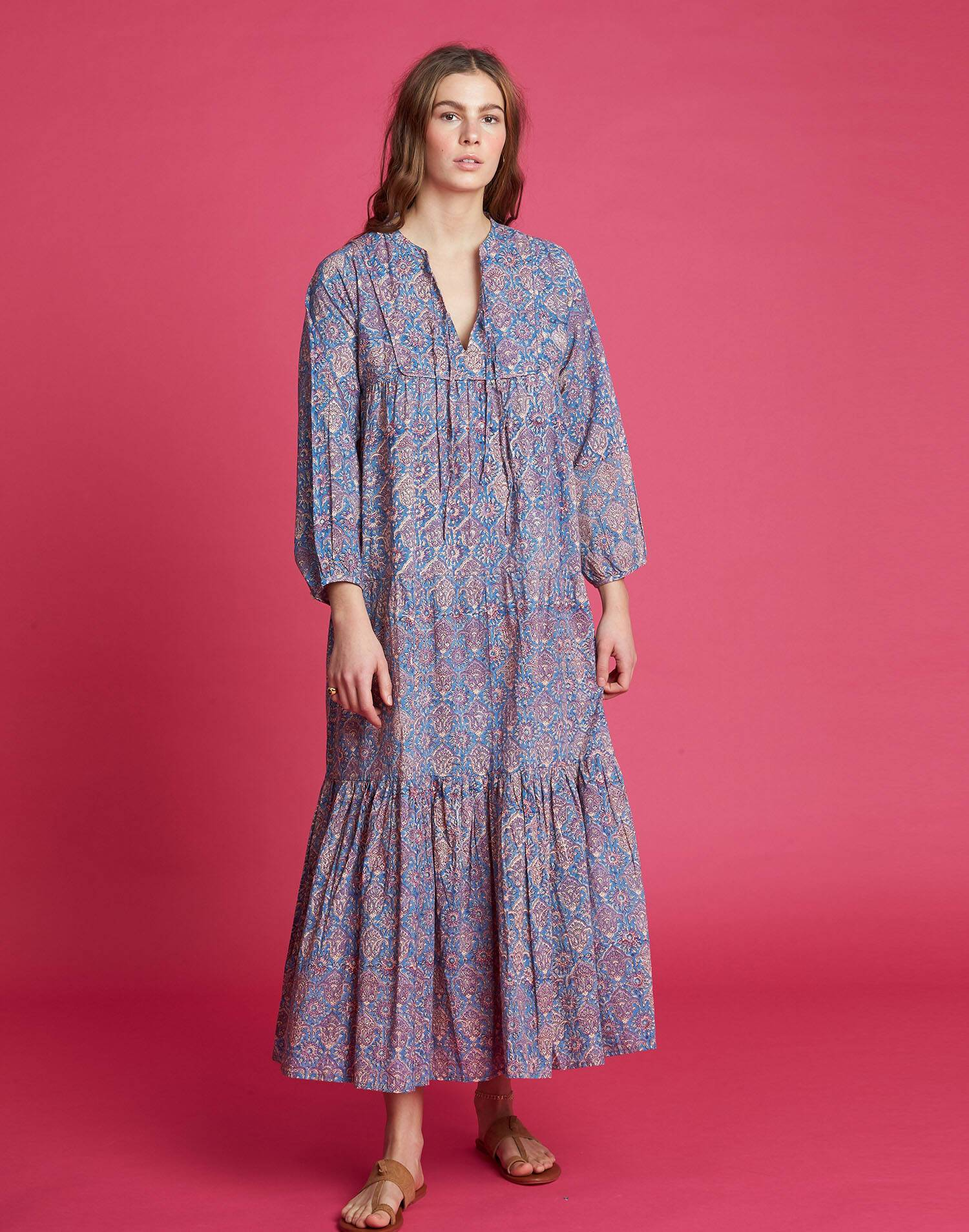 Long hippy dress