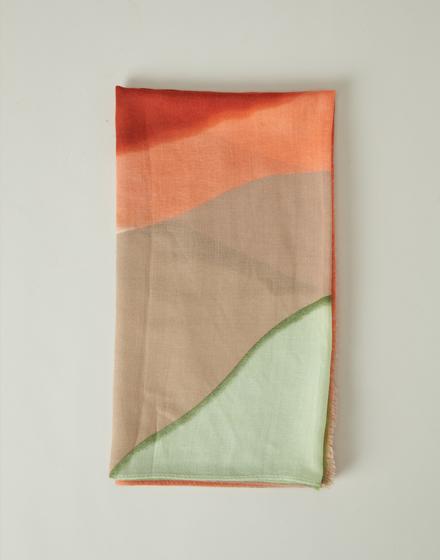 Watercolor foulard