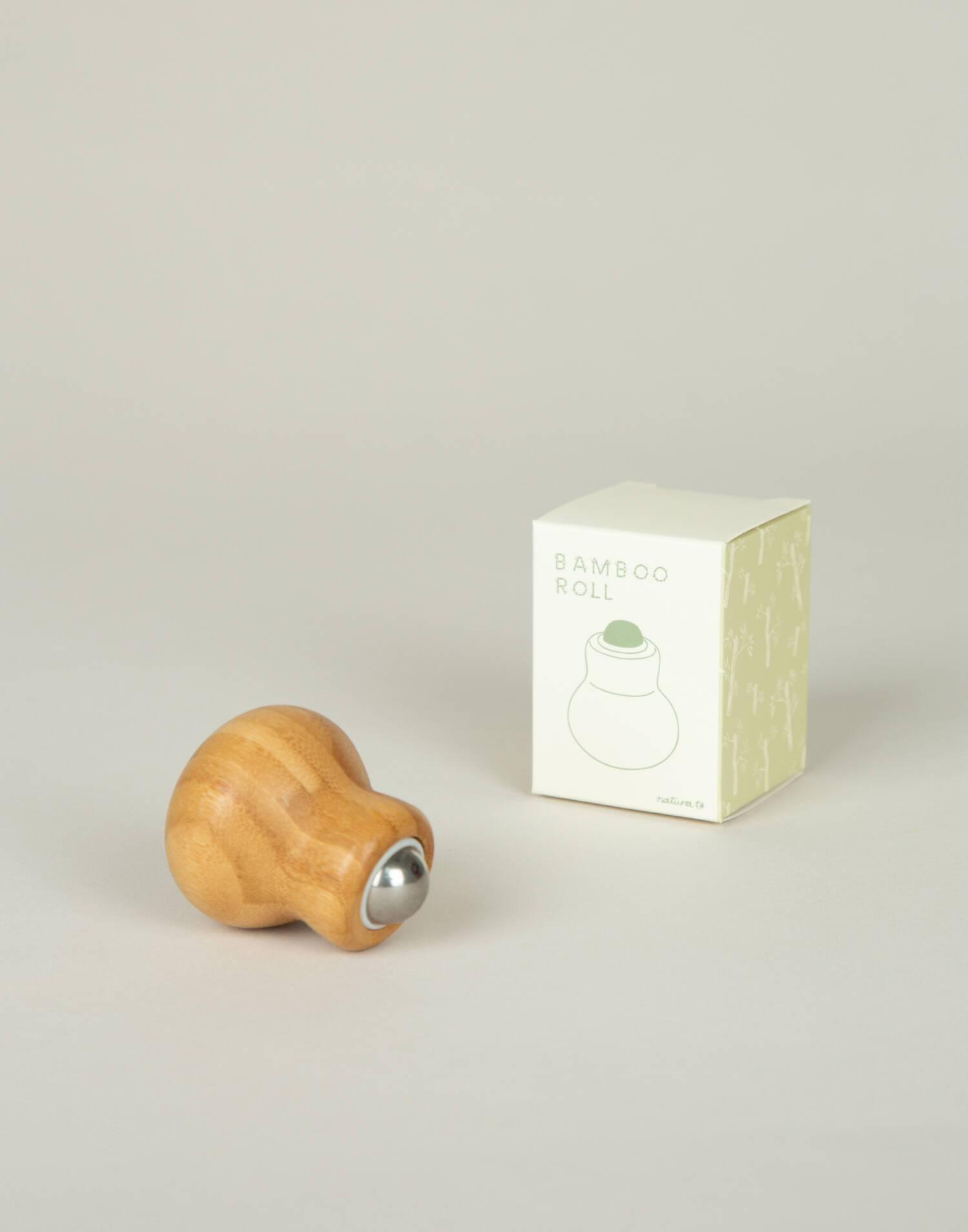 Bamboo massage roll