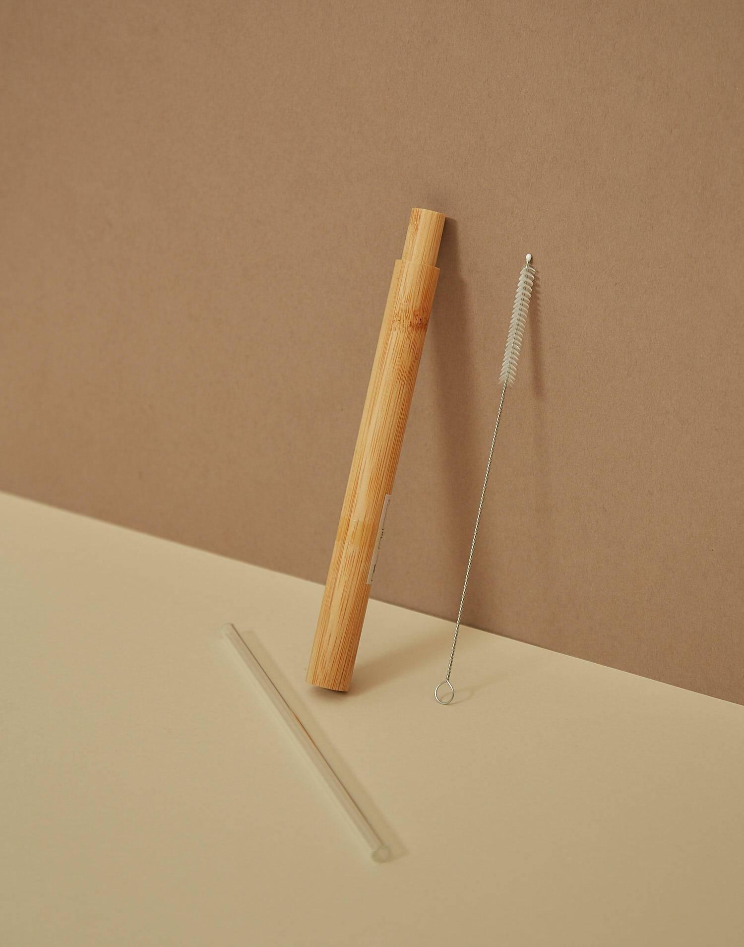 Caña cristal + caja bambú