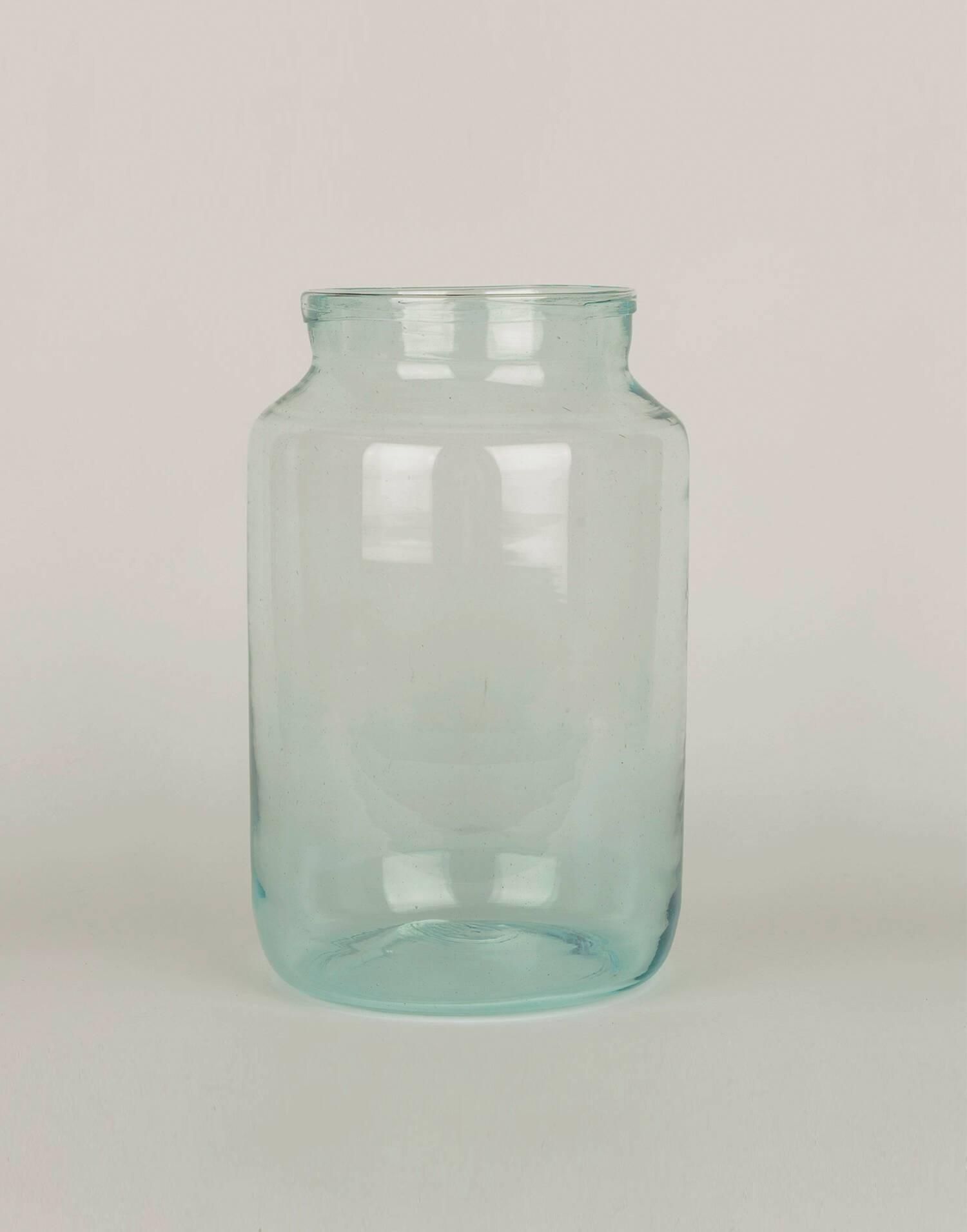 Vaso vetro spesso 18 x 30cm
