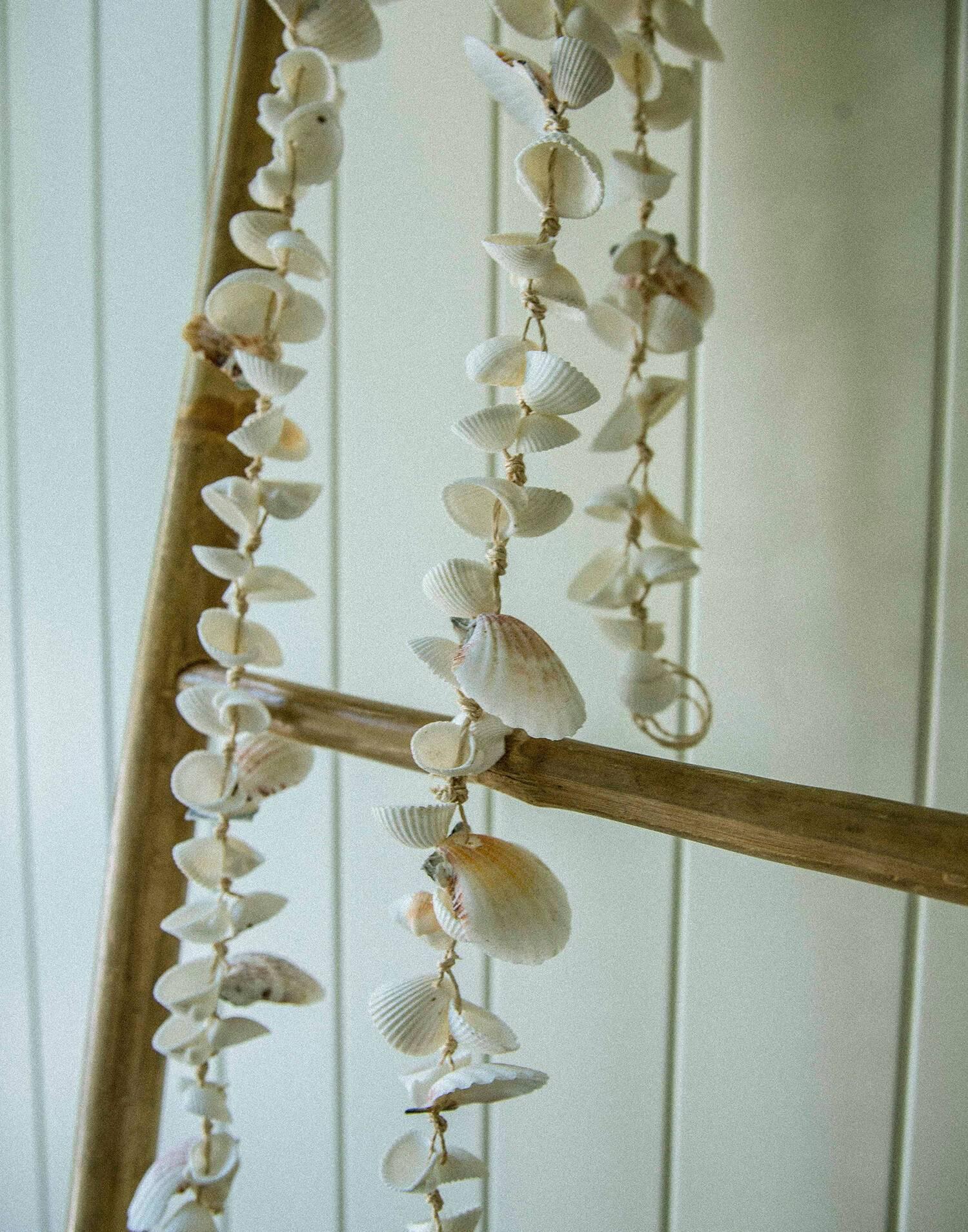Tira decoración conchas