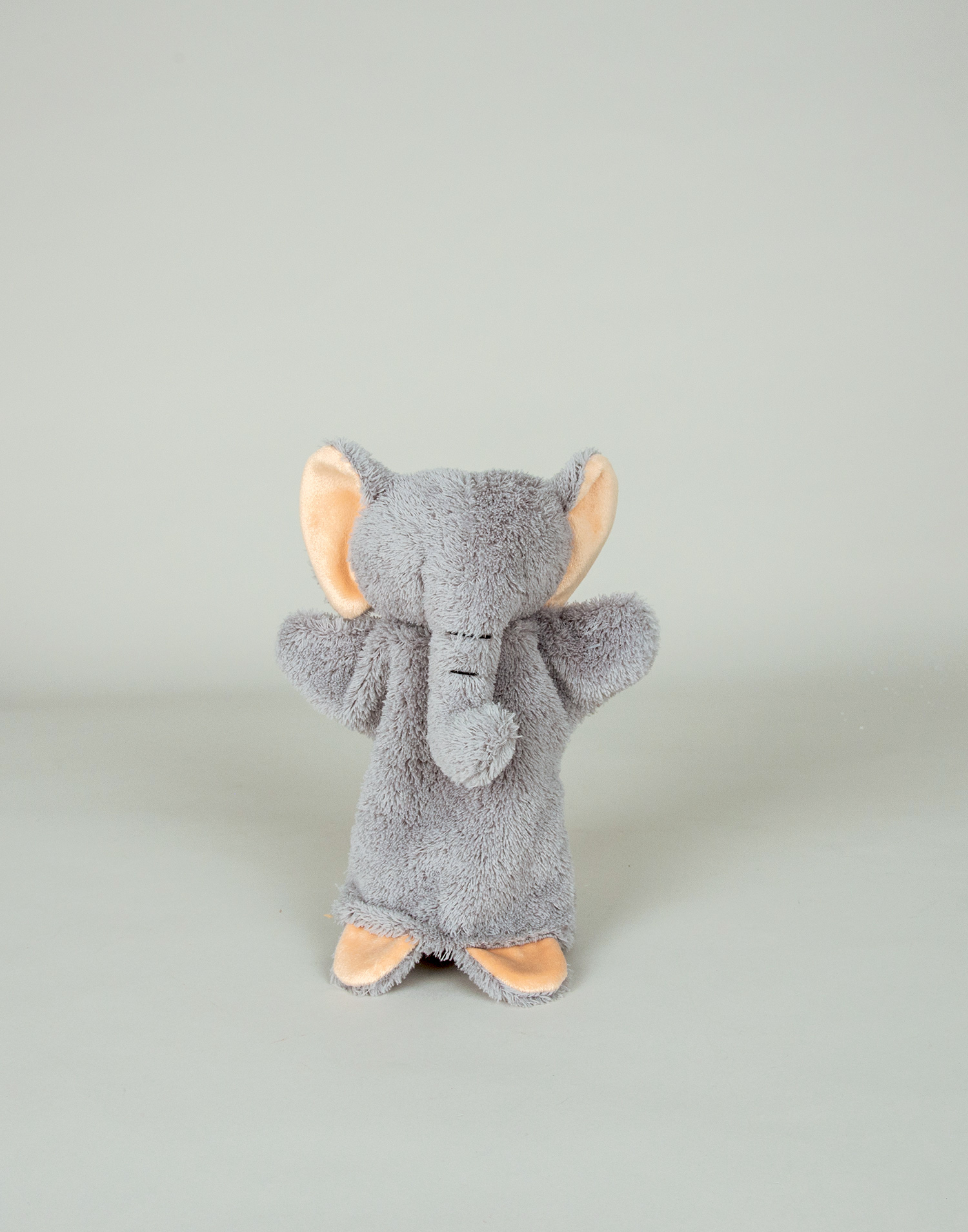 Stuffed elephant puppet