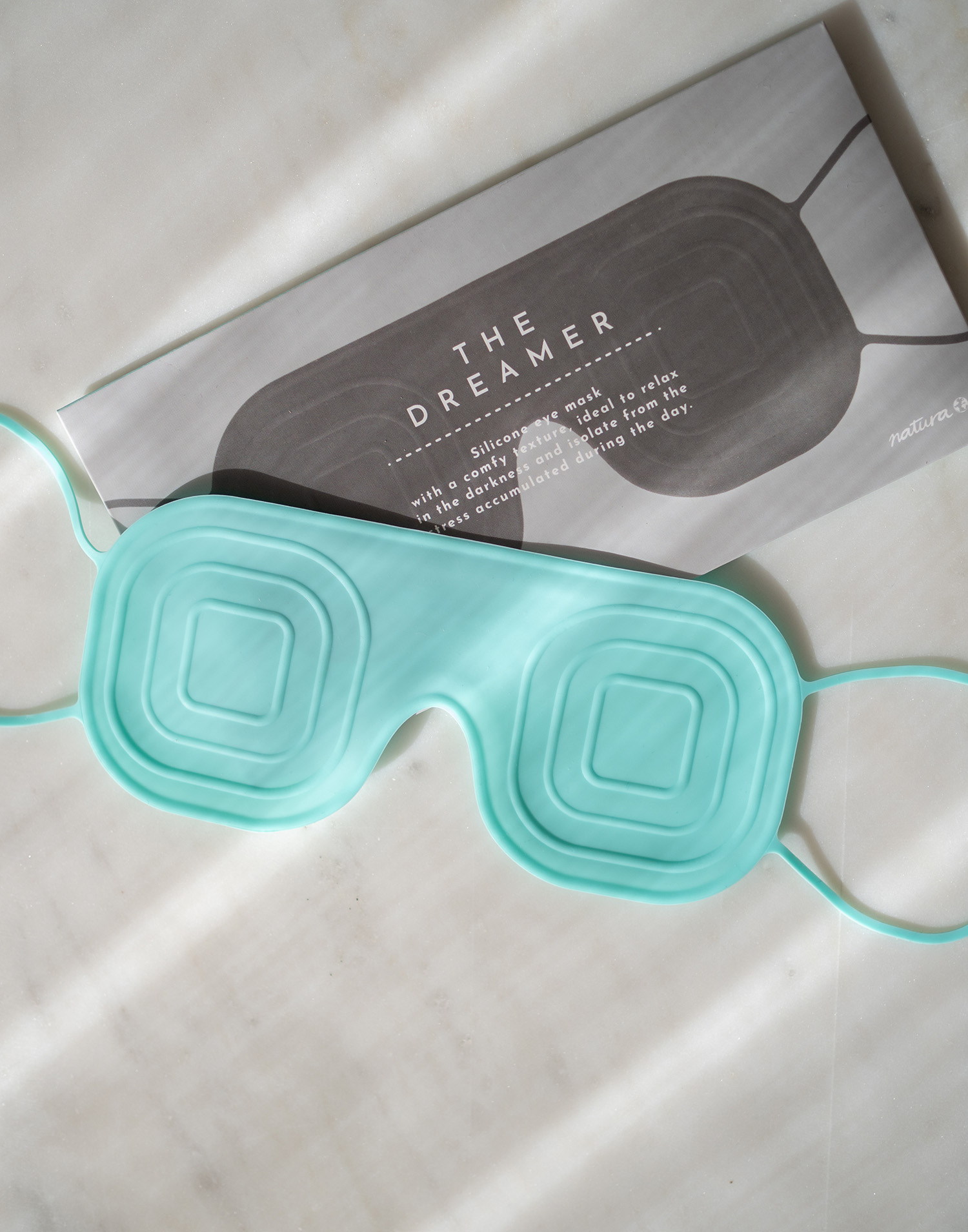 Silicone eye mask