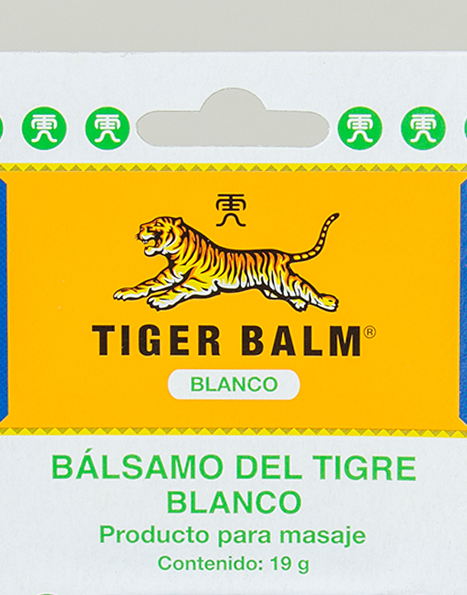 Bálsamo tigre blanco