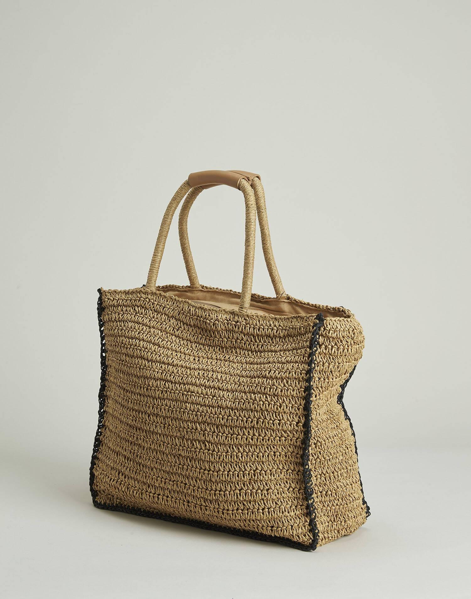 Piping paper basket bag
