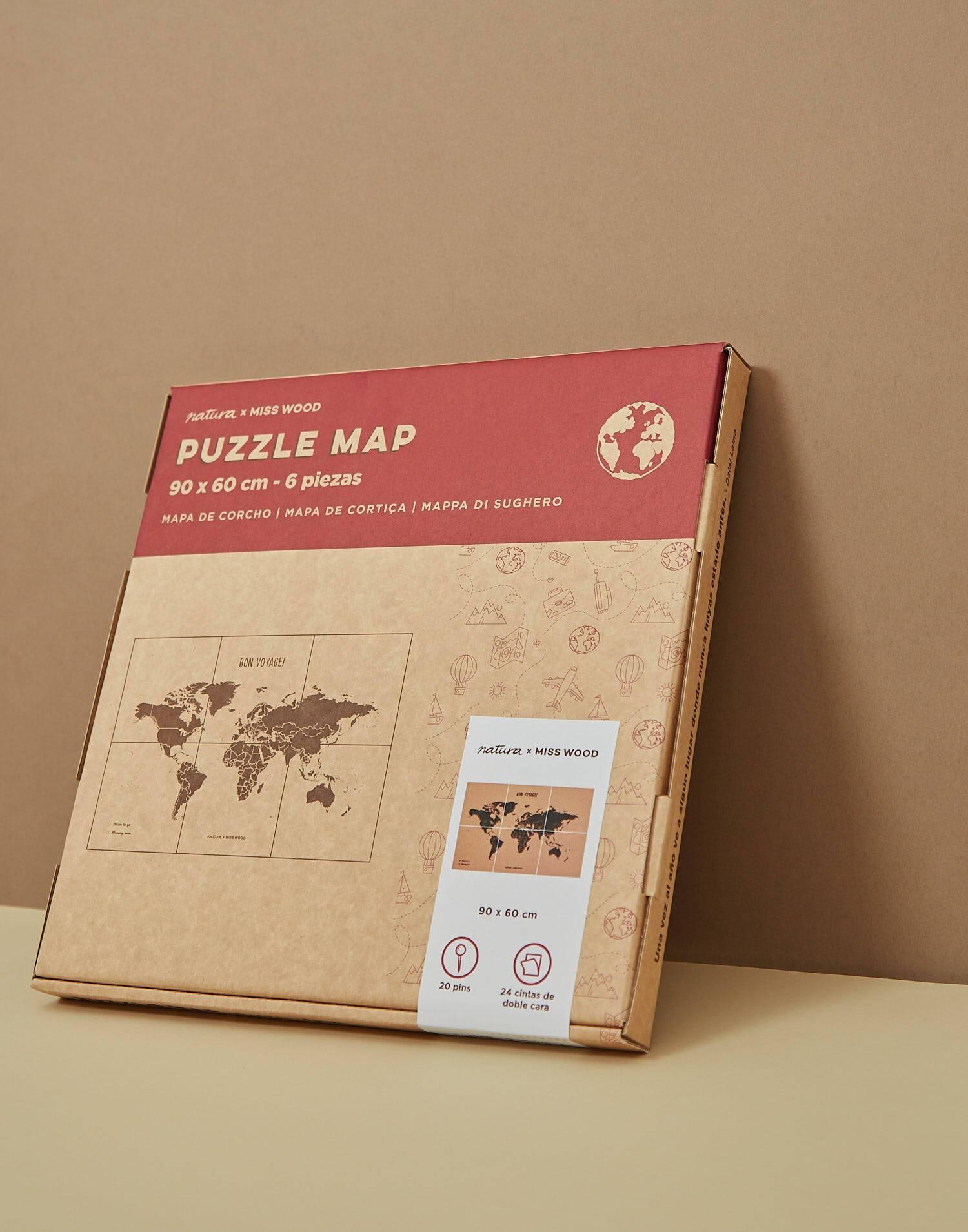 Cartina puzzle 90x60