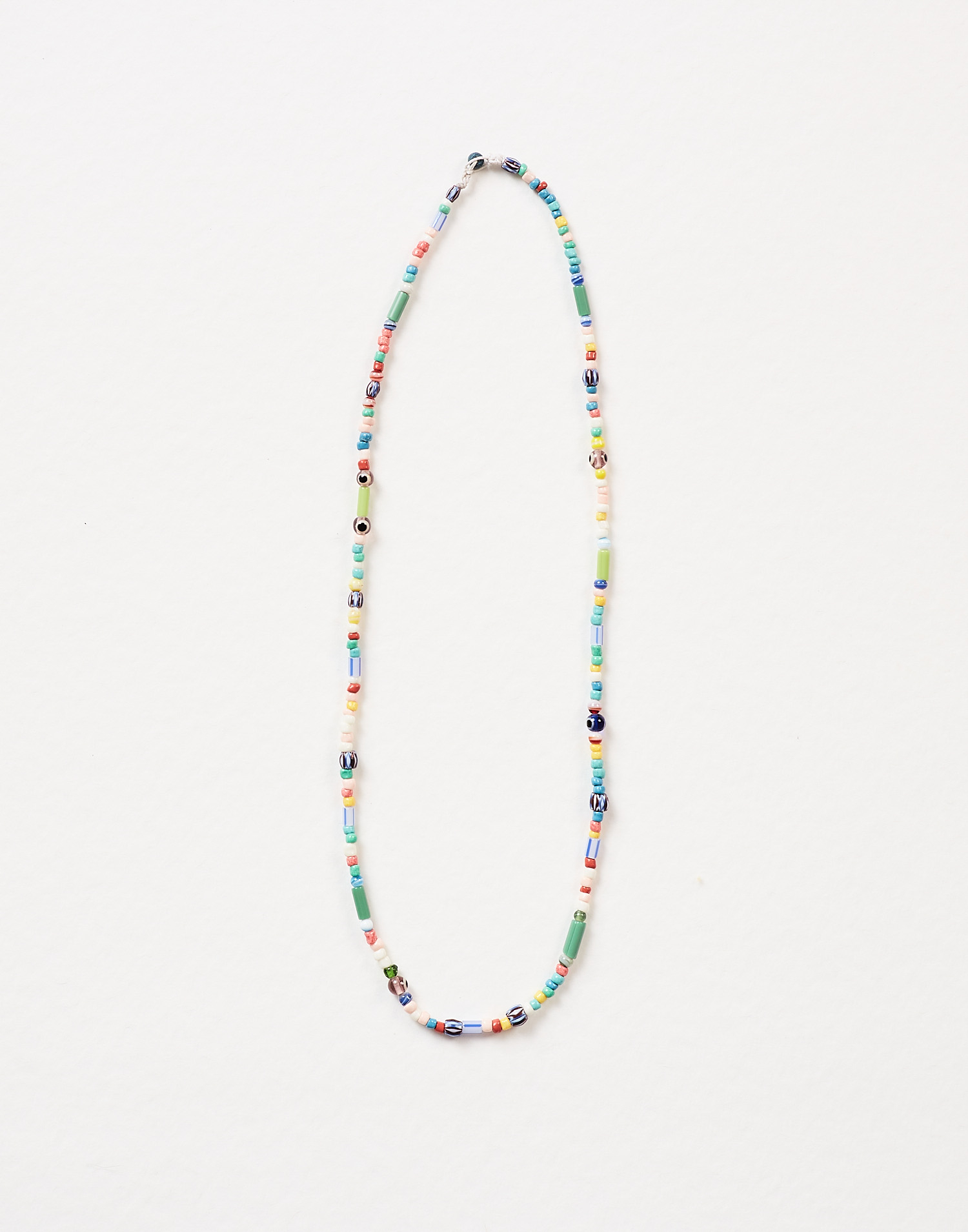 Multibeads long necklace
