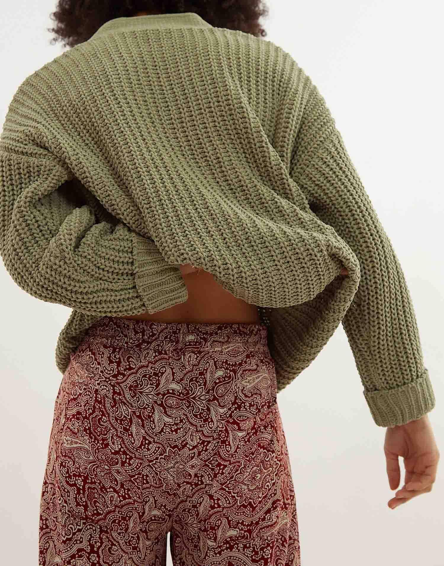 Pantaloni stampa barocca