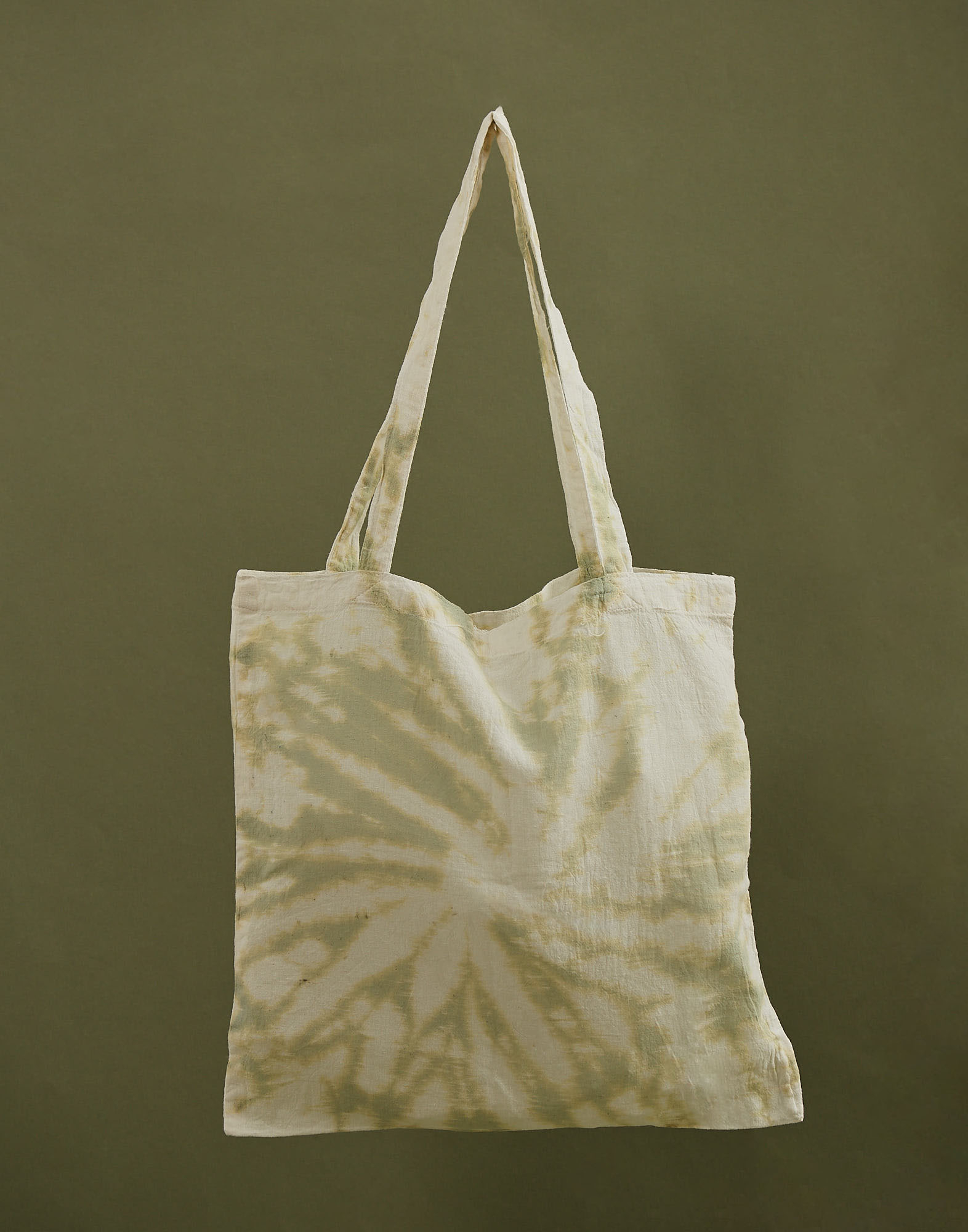 Tye dye reusable tote bag