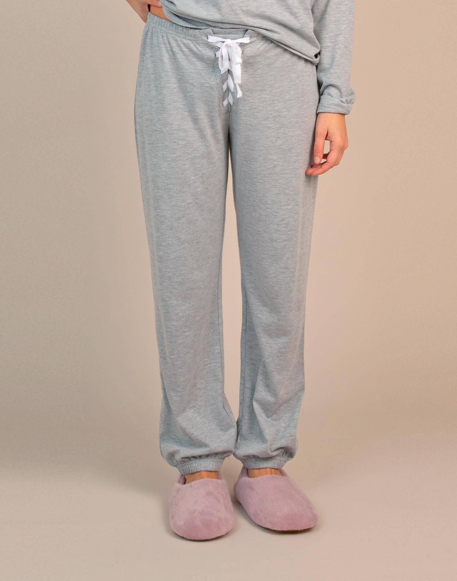 Pantalón homewear cinta zigzag
