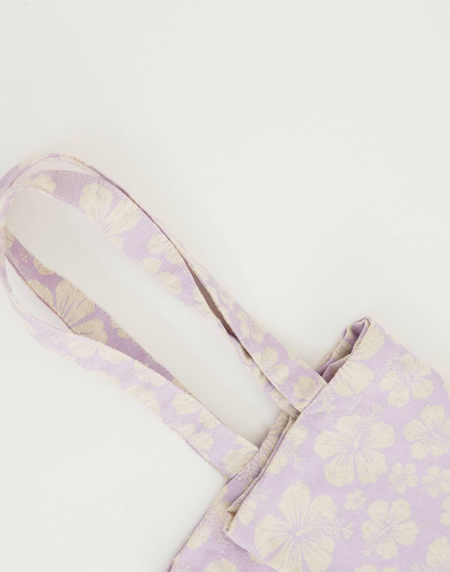 Tasche mit leinenmuster