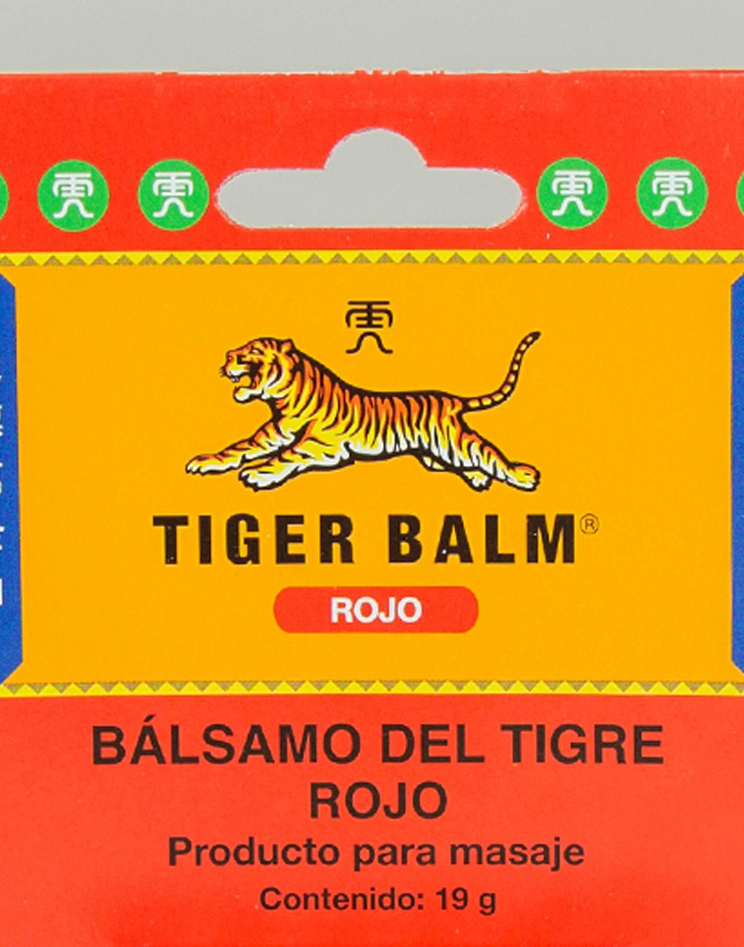 Bálsamo tigre rojo