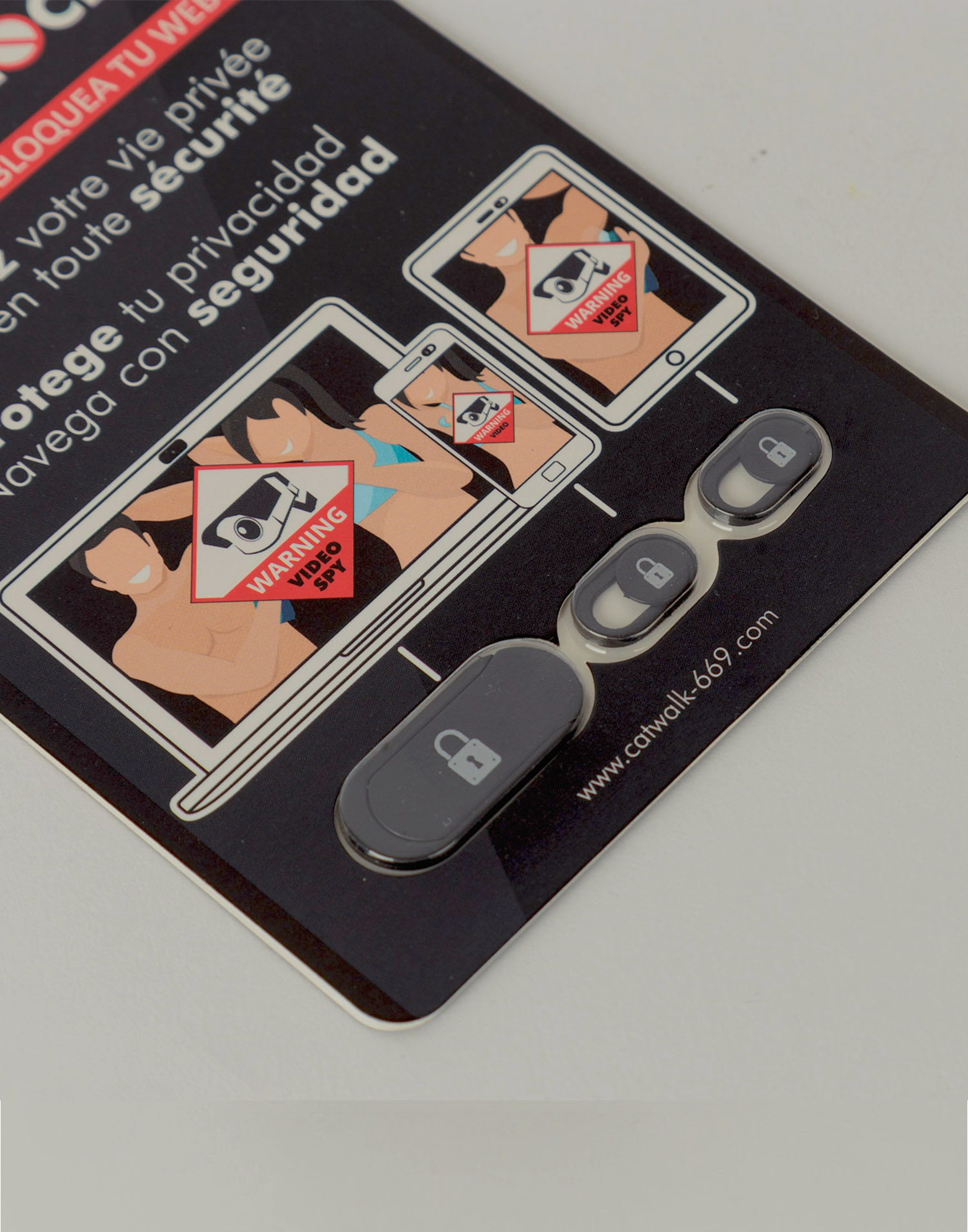 Webcam blocker stickers