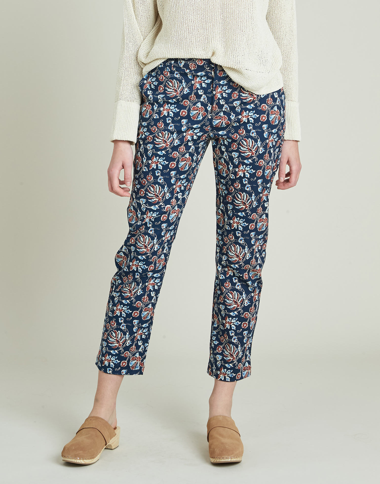 Indian flowers pant
