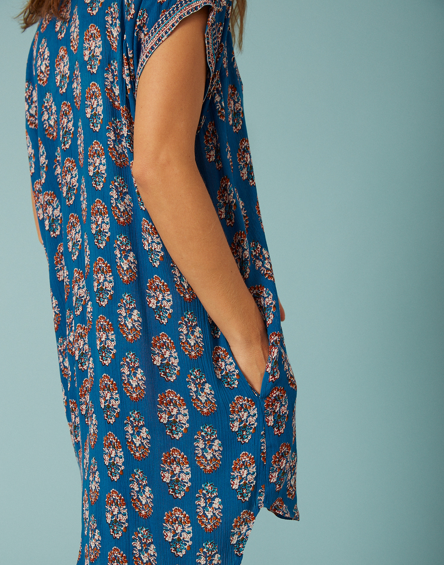 Indi short sleeve dress