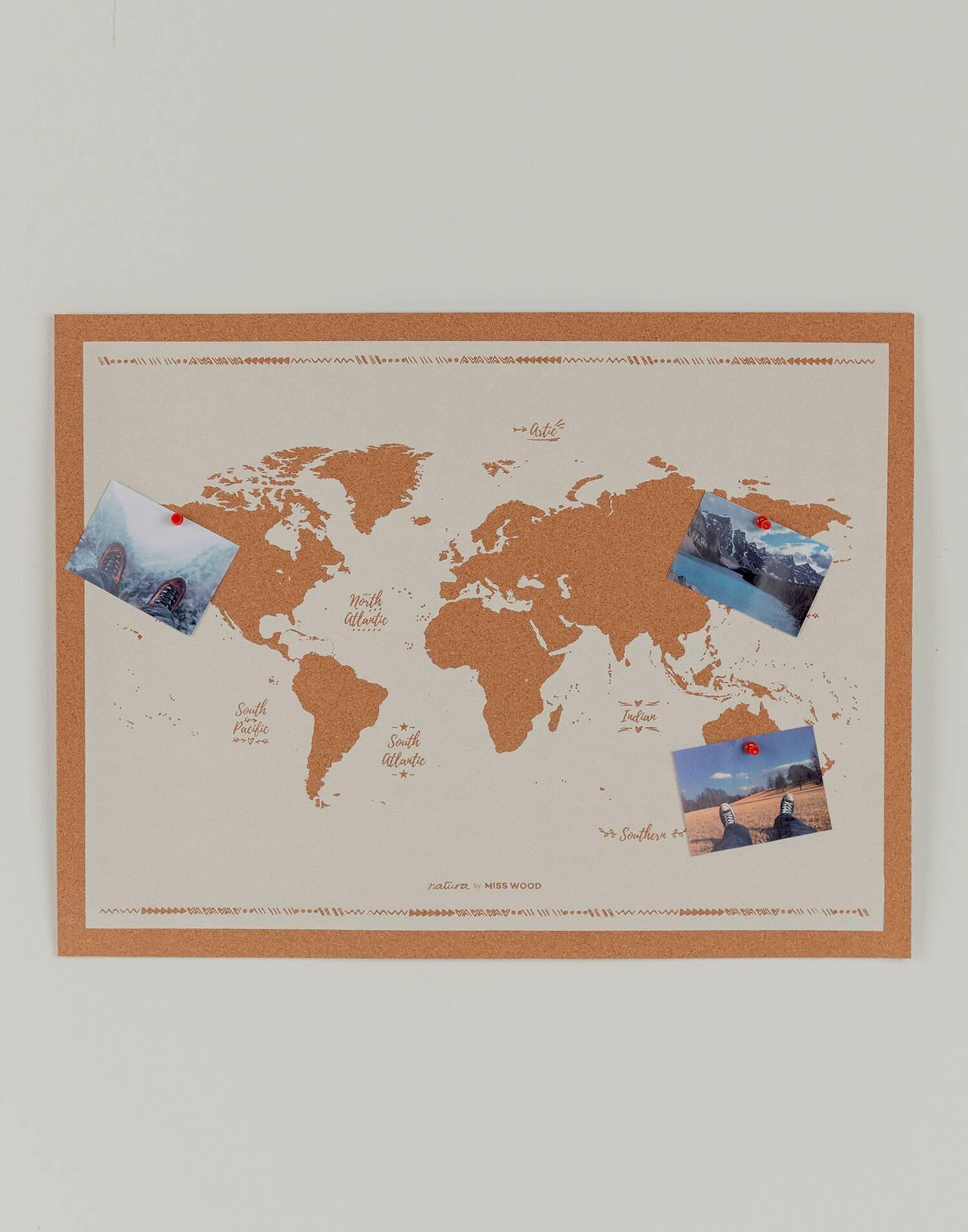 Korkweltkarte miss wood natura