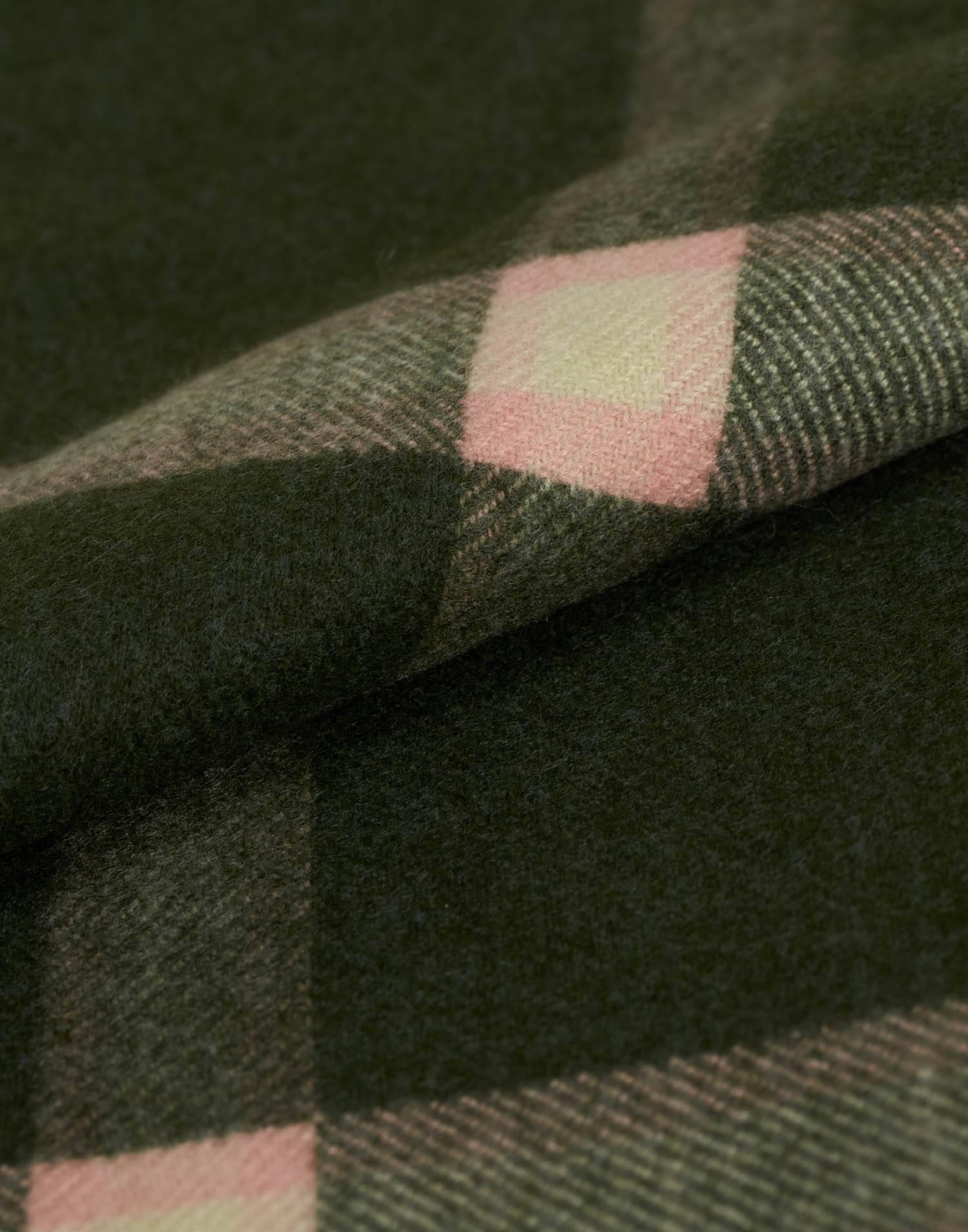 Bufanda cuadros bicolor