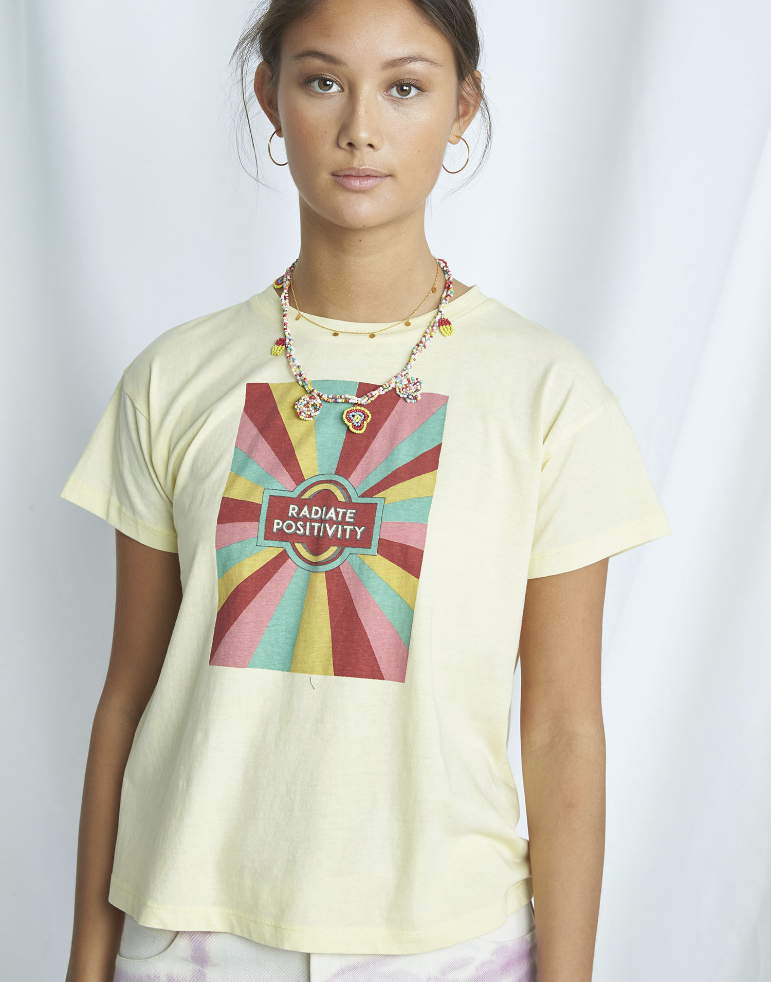 "Organic ""happy"" t-shirt"