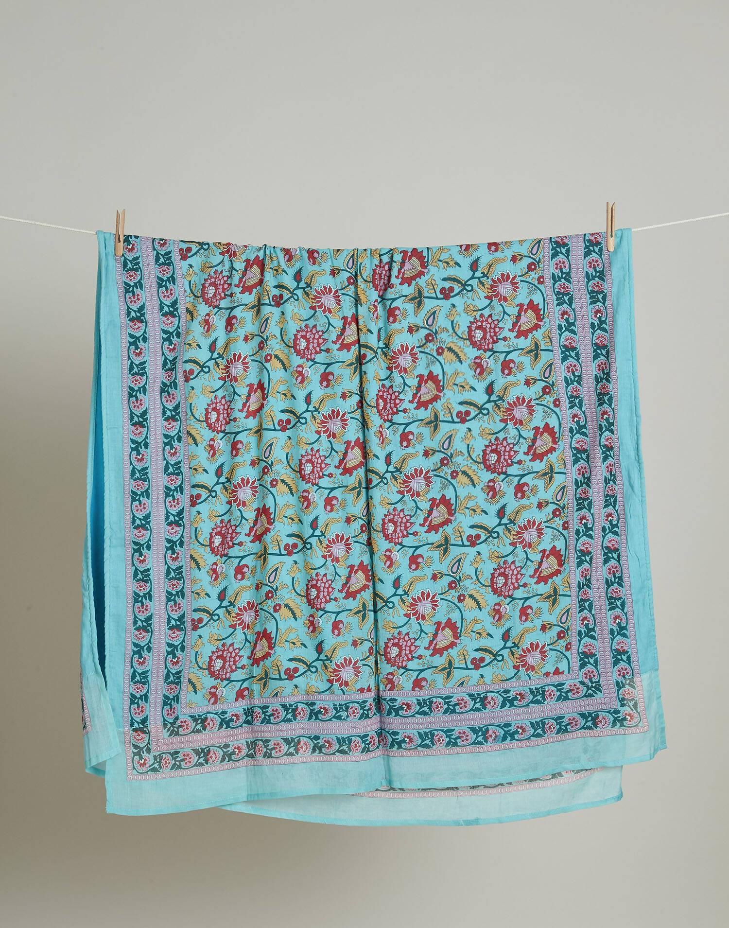 Pareo toalla flor multicolor