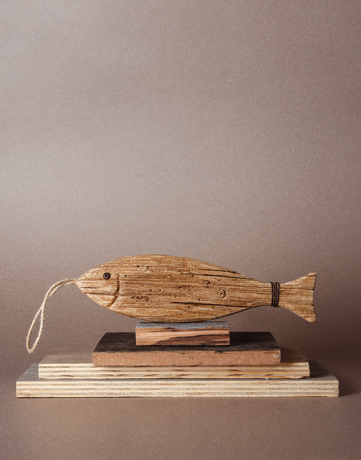 Fish with rope