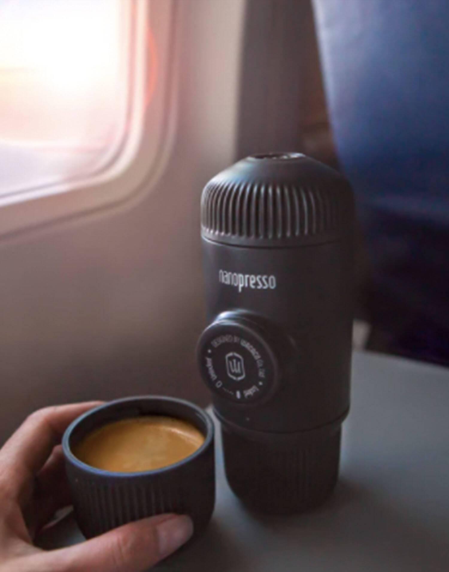 Portable espresso coffe machine