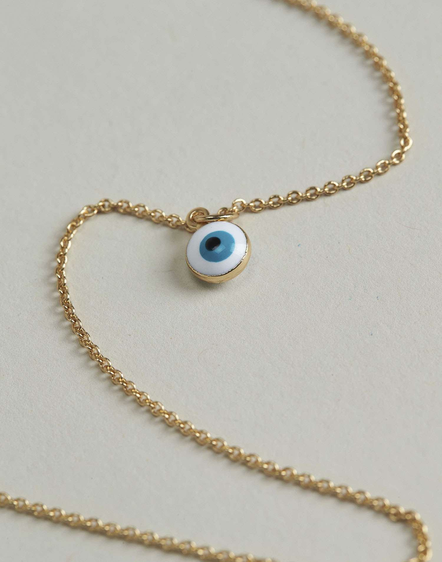 Evil's eye pendant necklace