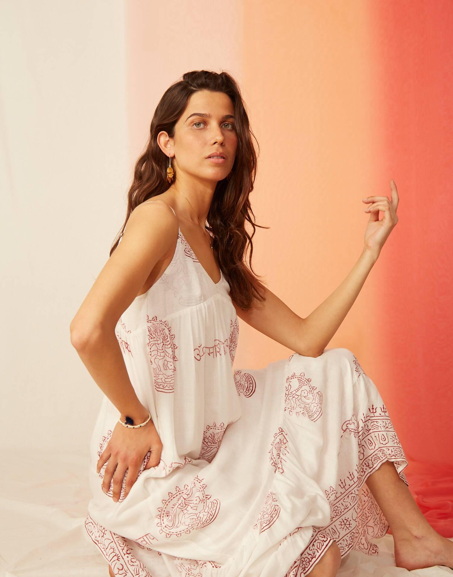 robe bretelles sanskriti
