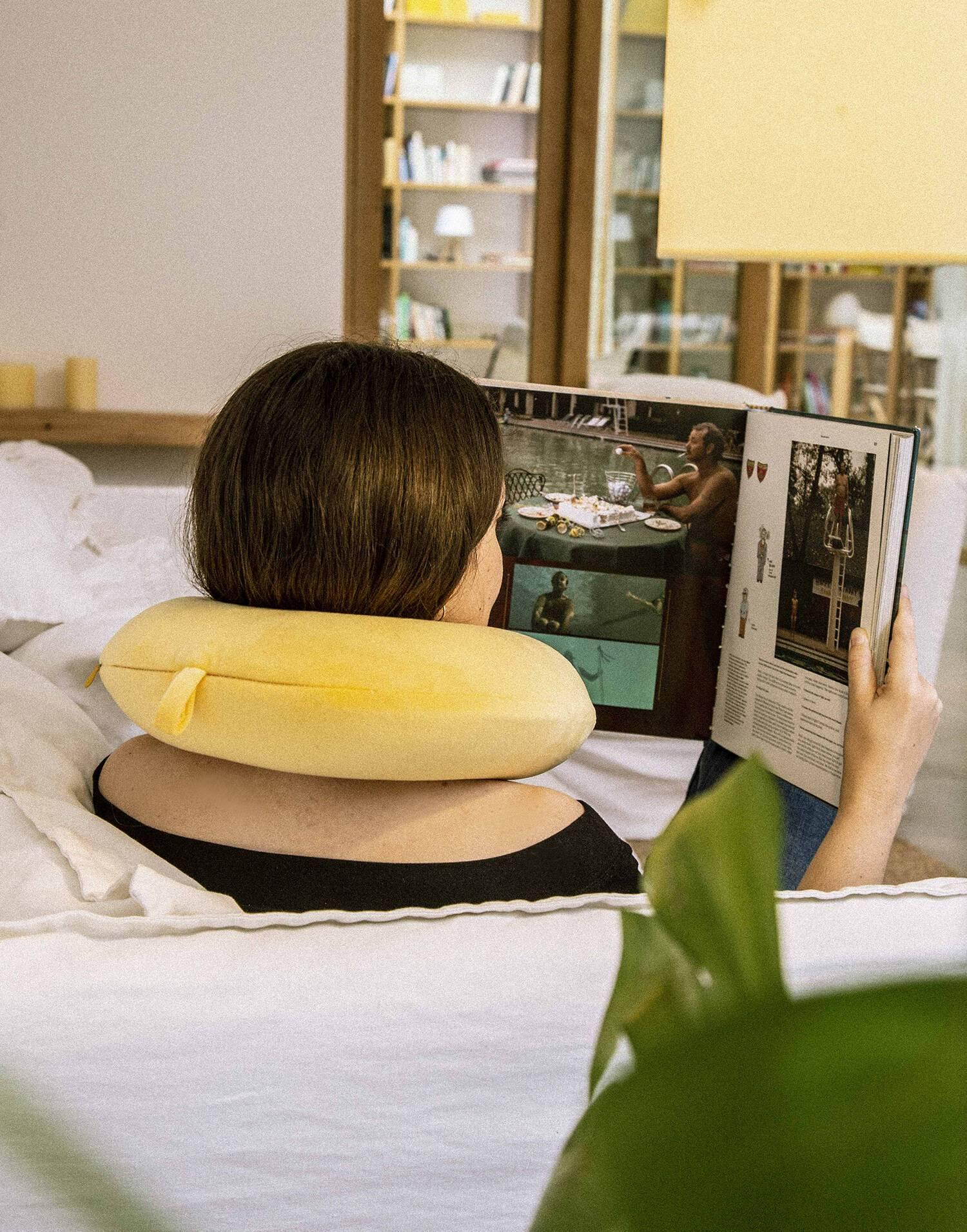 Cuscino cervicale velvet