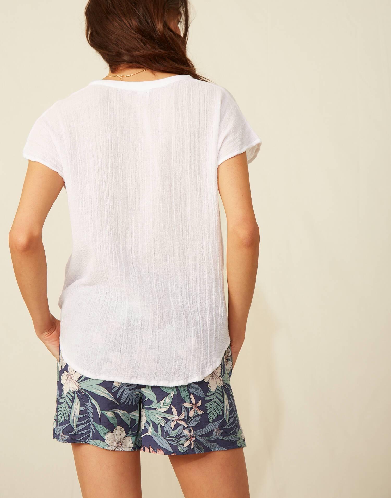 Camiseta manga corta  bolsillo