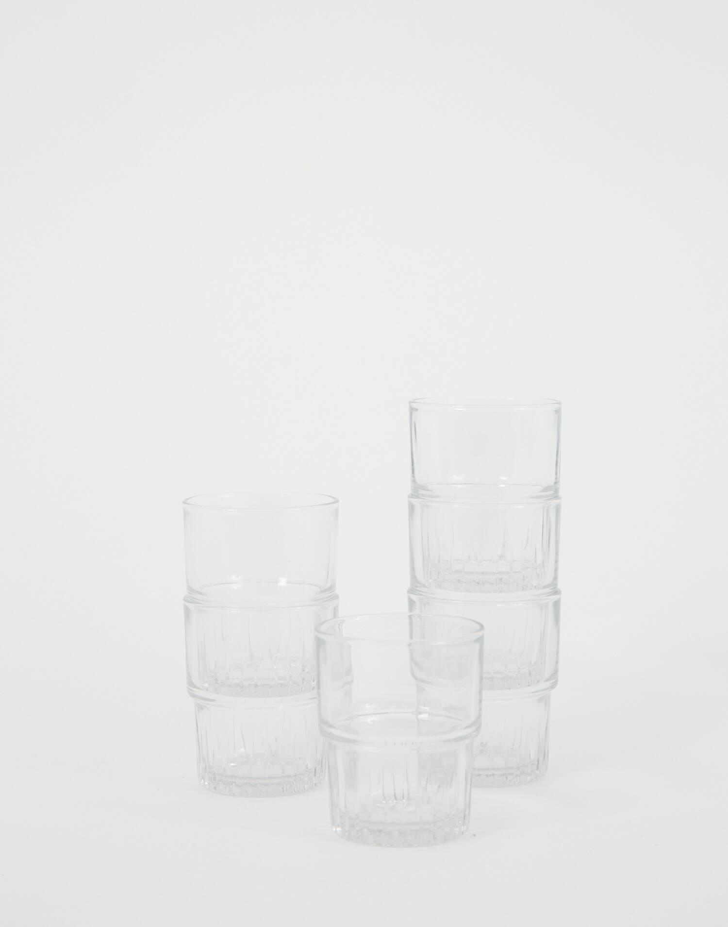 Set 6 bicchieri duralex impilabili 16 cl
