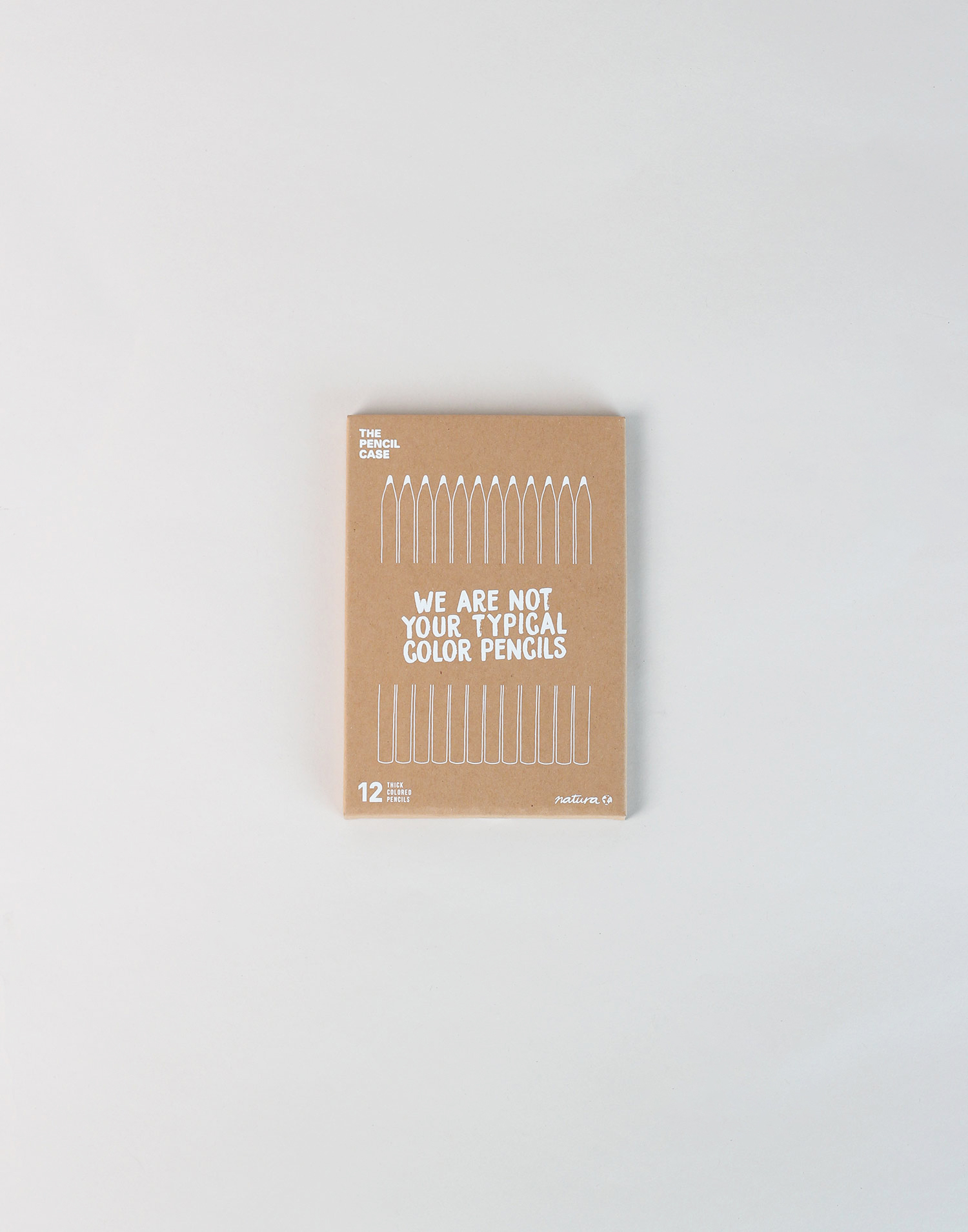 Caja de 12 lápices de colores gordos