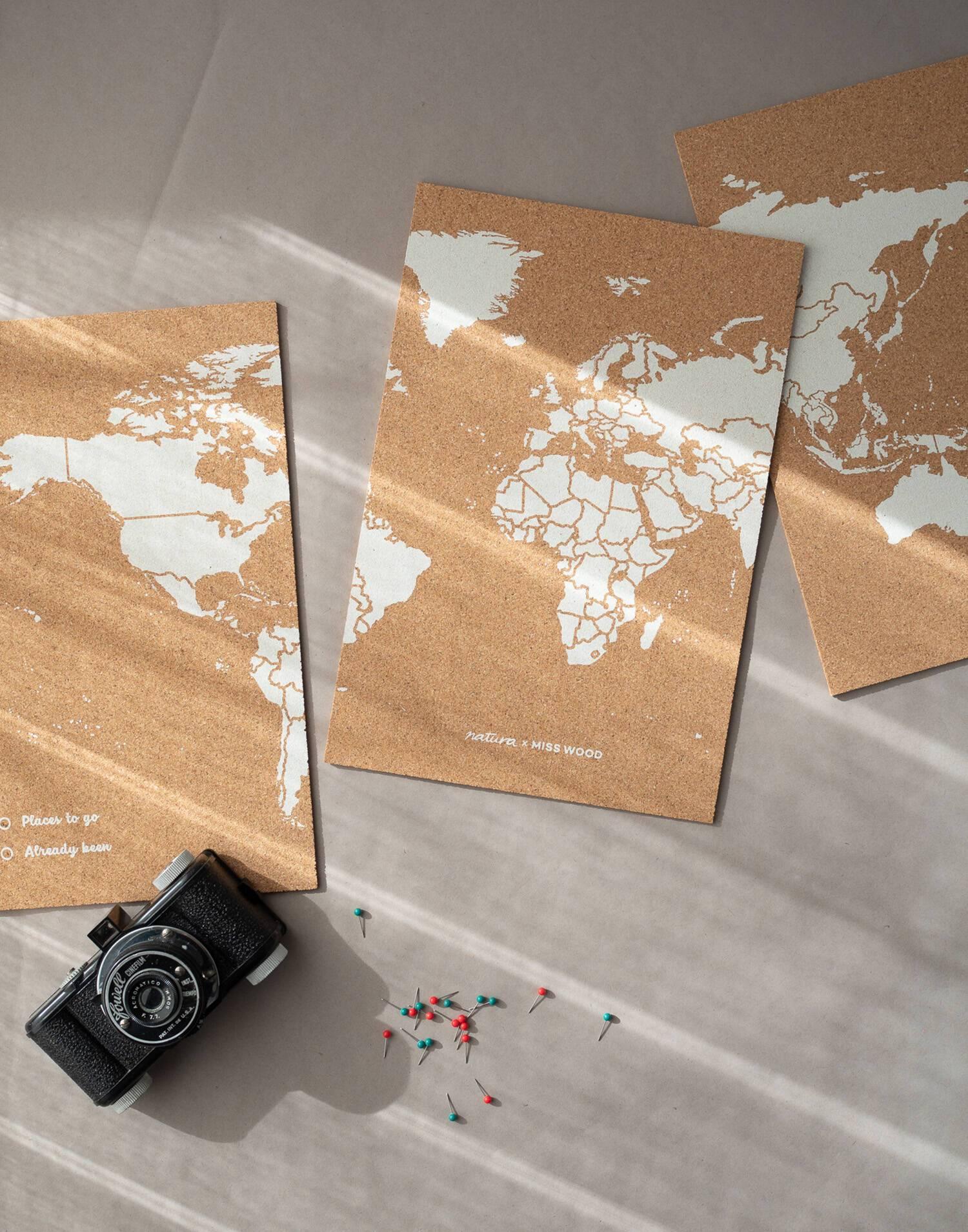 Mapa puzzle 60x30