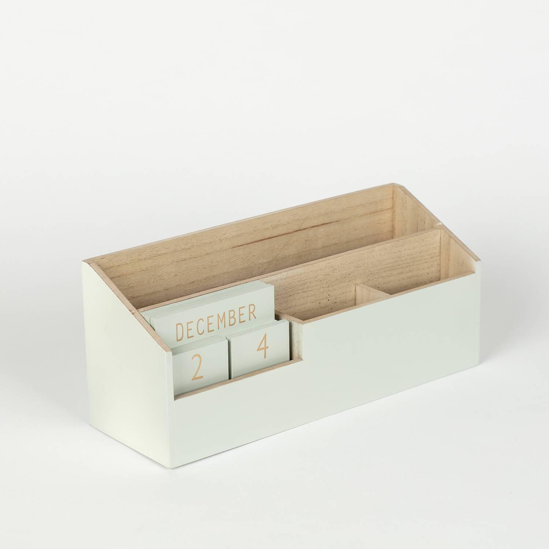 Calendario/organizador madera